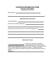 CONSENT FORM FOR INTERVIEW-new