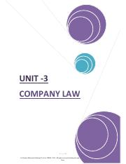 m2 unit-III Company Law.pdf