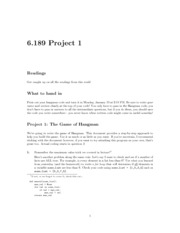 project1 notes