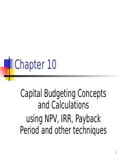 ppt i not on exams TVM for Capital Budgeting- calculating NPV, IRR, Payback Period, etc.pptx