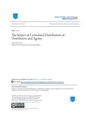 The Impact of Centralised Distribution on Distributors and Agents.pdf