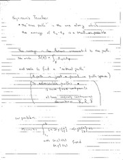 Class Notes Feynman Teacher and Fundamental Subpaces