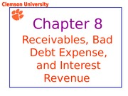Chapter 8 Powerpoint DMG Fall 2013