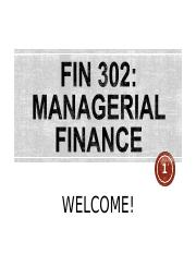 FIN 302 Chapter 1.ppt