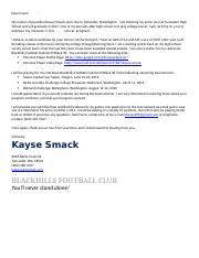 Email Template for Coaches