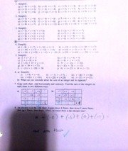 Worksheets two