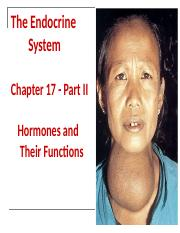 BIO 151 Endocrine Part II 2014.ppt