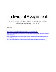 Individual Assignment_Law101_hungdmsb01518.docx
