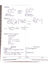 CHM 2211L Chapter 8 Electrophilic Aromatic Substitution Lab Report Answers