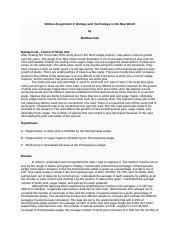 The pennsylvania regeneration study