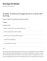 Chapter 3 Ethical and Legal Issues in Critical Care Nursing Nursing Test Banks.pdf