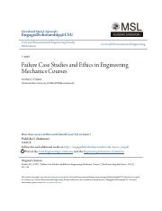 Failure Case Studies and Ethics in Engineering Mechanics Courses.pdf