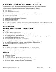 Energy Conservation Policy and Procedures.docx
