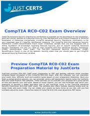 RC0-C02 Advanced Security Practitioner (CASP) Recertification Exam Dumps