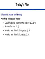 Ch3 Matter and Energy S15