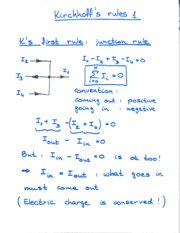 Kirchoff Notes