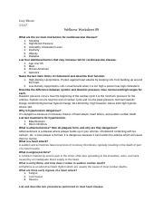 Wellnessworksheet89 Docx Joey Moore Wellness Worksheet 89