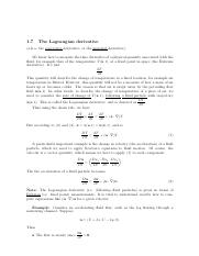 The Lagrangian Derivative.pdf