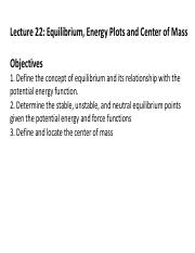 2ndLE Lecture 22 - R8 Equilibrium and Energy Plots.pdf