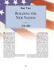 chapter 9 building the new nation