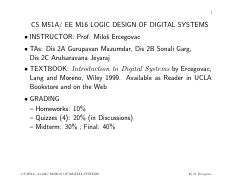 Introduction To Digital Systems Ercegovac Pdf