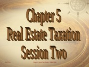 5 -  Real Estate & Income Taxes