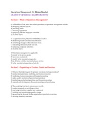 Exam #1 Student Study Guide MGT 310 Fall_2015