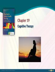 Ch19 -  Cognitive Therapy.ppt