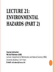 Lecture 21 Env. hazards (cntd).ppt