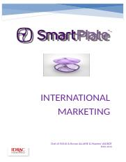INTERNATIONAL MARKETING REPORT PRASH.docx