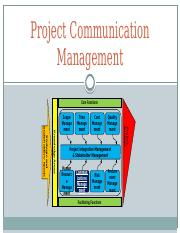 10-PMC-Project Communication Management