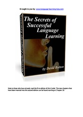 The-Secrets-of-Successful-Language-Learning