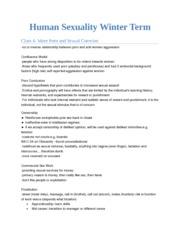 Human Sexuality Winter TermL4