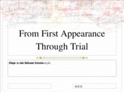 first.appearance.to.trial