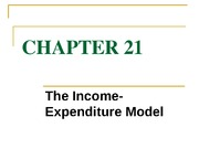 chapter 21 the income-expenditure model