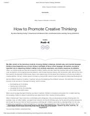 How to Promote Creative Thinking _ Scholastic.pdf