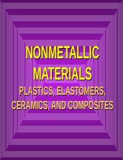 Chapter-5-non-metallic-materials ppt - NONMETALLIC MATERIALS