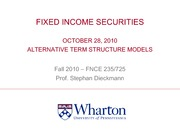 10_28_2010 Alternative_Term_Structure_Models