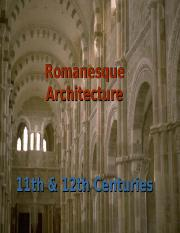 Romanesque Architecture(1)