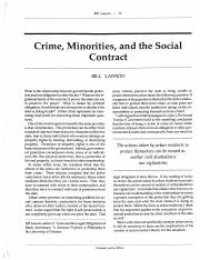 Lawson, Crime, Minorities, and the Social Contract.pdf
