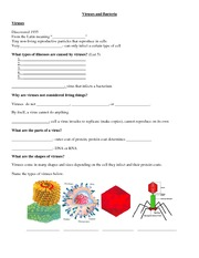 Notes Viruses and Bacteria