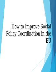 How to Improve the EU Social Policy.ppt