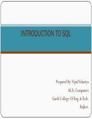 Introduction-of-SQL