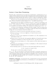 functions- lect notes