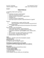 bio 101 review questions