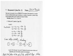 MATH 30210 Fall 2014 Homeowork 5 Solutions