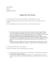 Chapter One Case Excersise.docx