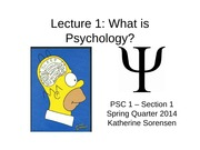 PSC+1+Lecture+1+What+is+Psychology+for+students