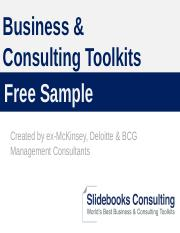 Business & Consulting Toolkits - Free Sample in Powerpoint.pptx