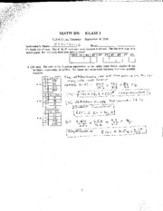 2012 fall final exam solution Math 271 { winter 2012 final exam { solutions 1(a)use the euclidean algorithm to nd gcd(10057) also use the algorithm to nd integers x and y.